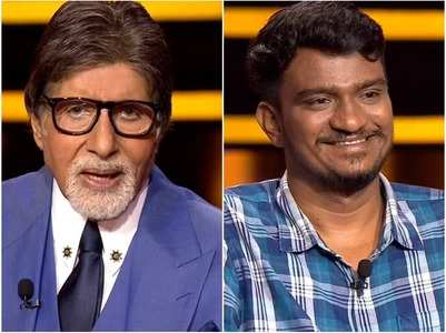 KBC: Contestant came to win his in-laws