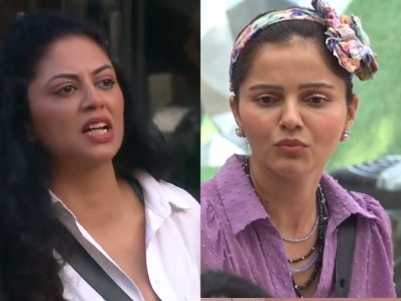 Bigg Boss 14: Rubina Dilaik refuses to cut fruits for captain Kavita Kaushik; latter calls her 'kaleshi'