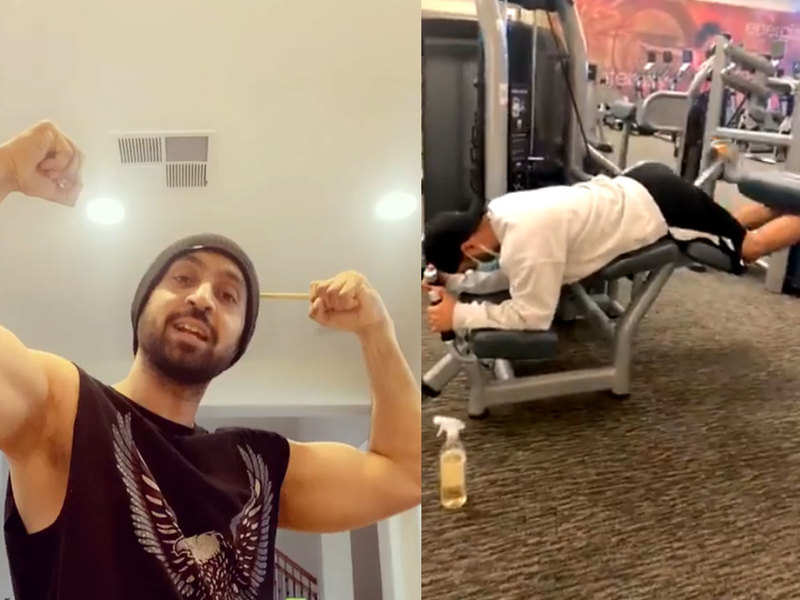 Diljit Dosanjh hits the gym after 6 months, gives massive fitness goals with his latest video