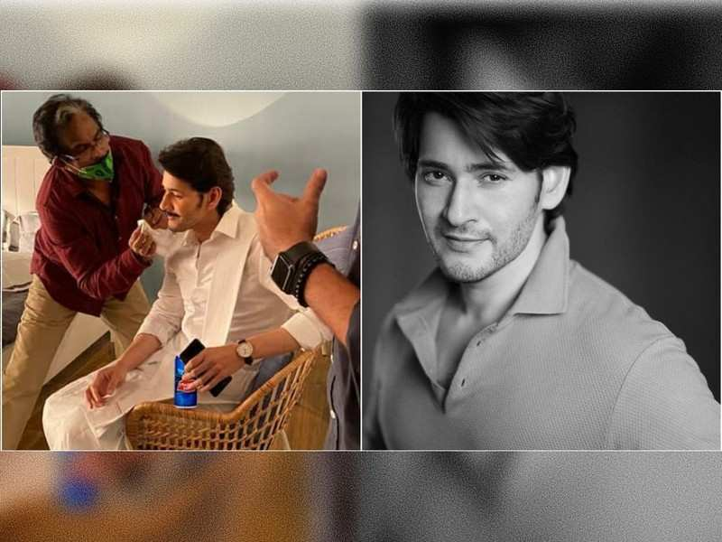 Mahesh Babu wows fans with a moustache look from behind-the-scenes of an ad shoot