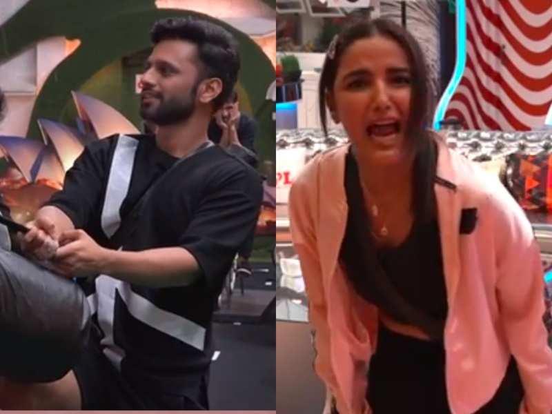 Bigg Boss 14: Twitterati slam Jasmin Bhasin for playing the woman card; hail Rahul Vaidya for shining in the game