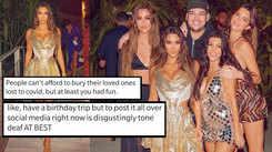 Kim Kardashian slammed for birthday trip amid pandemic; netizens call it 'disgustingly tone deaf'