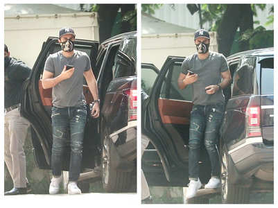 Pics: Ranbir steps out in the city