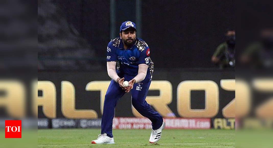 Mumbai Indians skipper Rohit Sharma training non-stop, nearing match fitness - Times of India