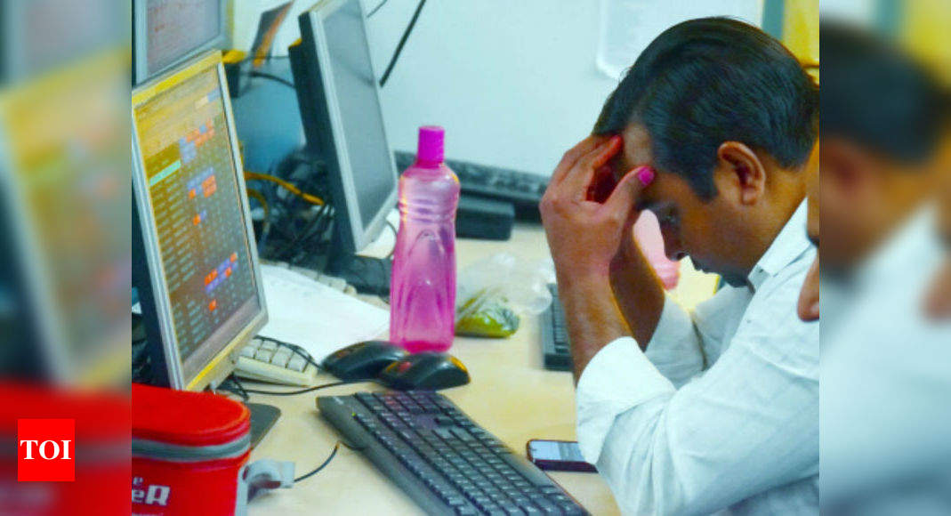 Investors' wealth tumbles by Rs 1.56 lakh crore amid massive sell-off – Times of India