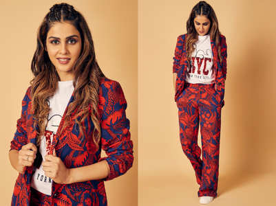 Genelia D'Souza stopped ageing after 20 and her pantsuit look is proof of that!