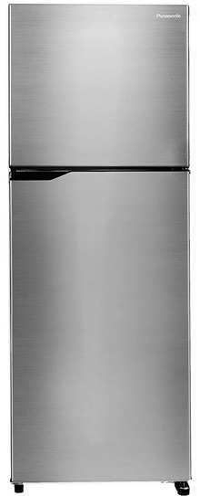 Panasonic NR-TBG31VSS3 305 L 2 Star 6-Stage Inverter Frost Free Double Door Refrigerator(Shining Silver, Jumbo Vegetable Basket)