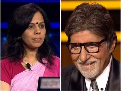 KBC: Contestant makes Big B blush