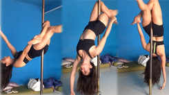 Watch: Kriti Kharbanda shows off her effortless moves on a pole!