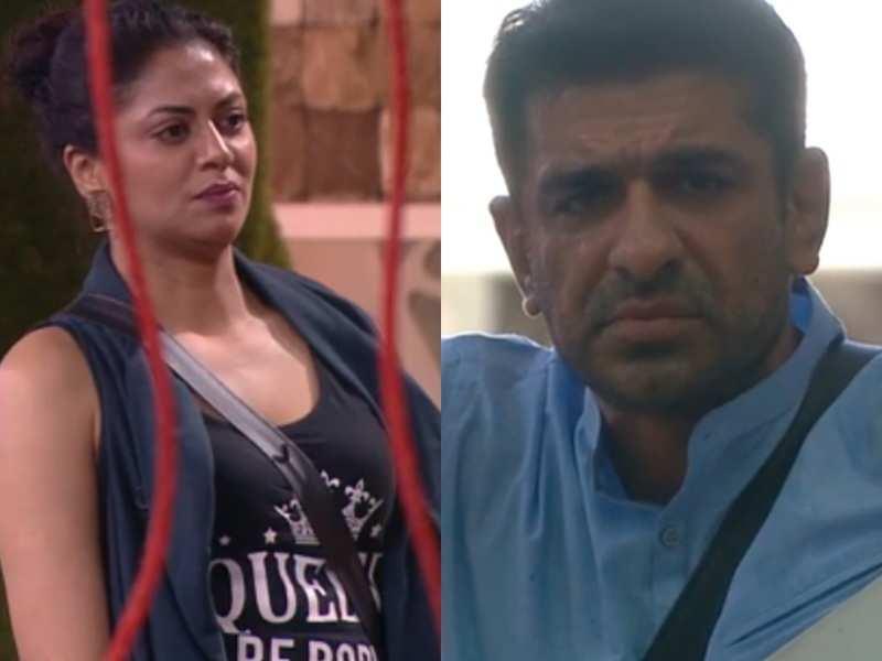 Bigg Boss 14: Kavita Kaushik makes Eijaz Khan cry as she accuses him of using her for personal gains