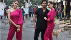 Sara Ali Khan and Varun Dhawan kickstart 'Coolie No 1' promotions