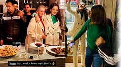 Watch: Kangana Ranaut hosts dinner party for 'Tejas' team at her Manali home, gang enjoy old Bollywood classics and delicious homemade food