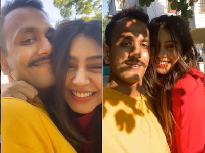 Niti shares cute video with hubby Parikshit