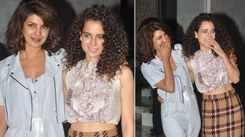 Kangana Ranaut recalls being 'starry-eyed' working with Priyanka Chopra in 'Fashion'