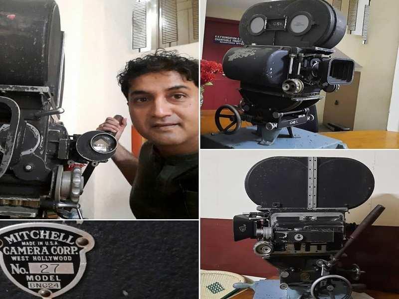 Actor Harish Raj marvels at Mitchell Camera