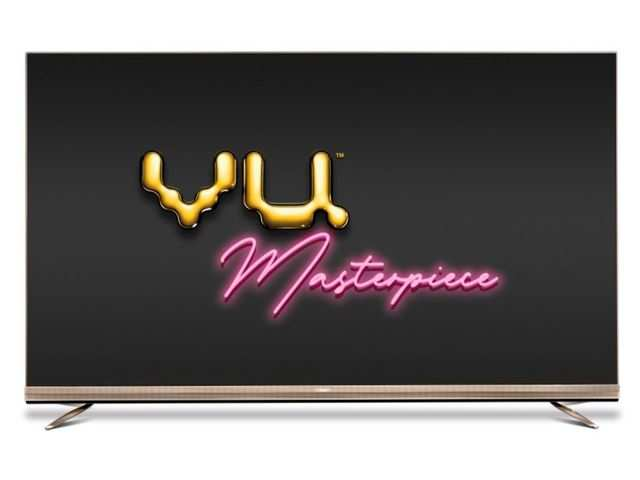 Vu launches Masterpiece TV with built-in soundbar at Rs 3,50,000