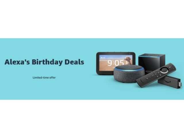 Amazon Alexa turns 6: Discounts on FireTV stick, smart speakers, smart displays and more