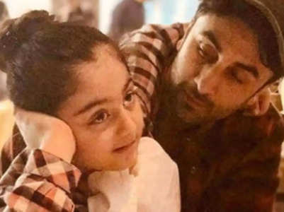 Pic: Ranbir's niece gets ready for Halloween