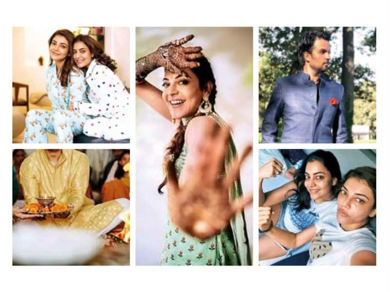 Kajal Aggarwal and Gautam Kitchlu wedding: Pre-wedding celebrations include mehendi, haldi and chooda