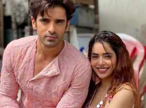 Mohit's delightful wish for co-actress Sana