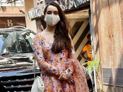 Shraddha Kapoor's anarkali is the perfect pick for every print-loving bride
