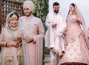 Neha trolled for 'copying' wedding outfits