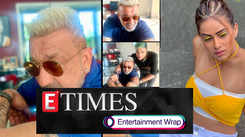 Sanjay Dutt flaunts his new platinum blonde hair; Nia Sharma's handbag gets stolen from her car, and more...