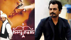Nawazuddin Siddiqui wept bitterly after his role was removed from Kamal Haasan's 'Hey Ram', Shruti consoled him