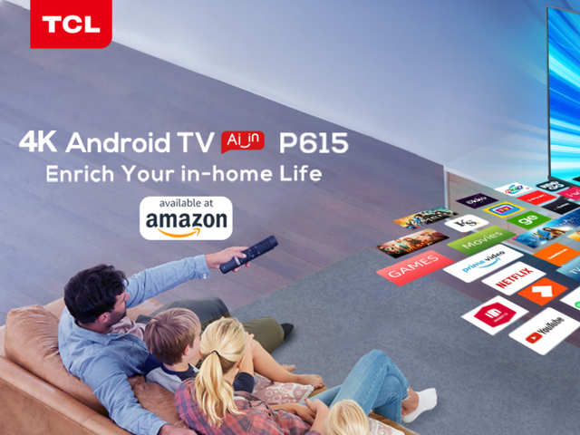 TCL expands its smart TV lineup with TVP615 Android TV, price starts at Rs 23,999