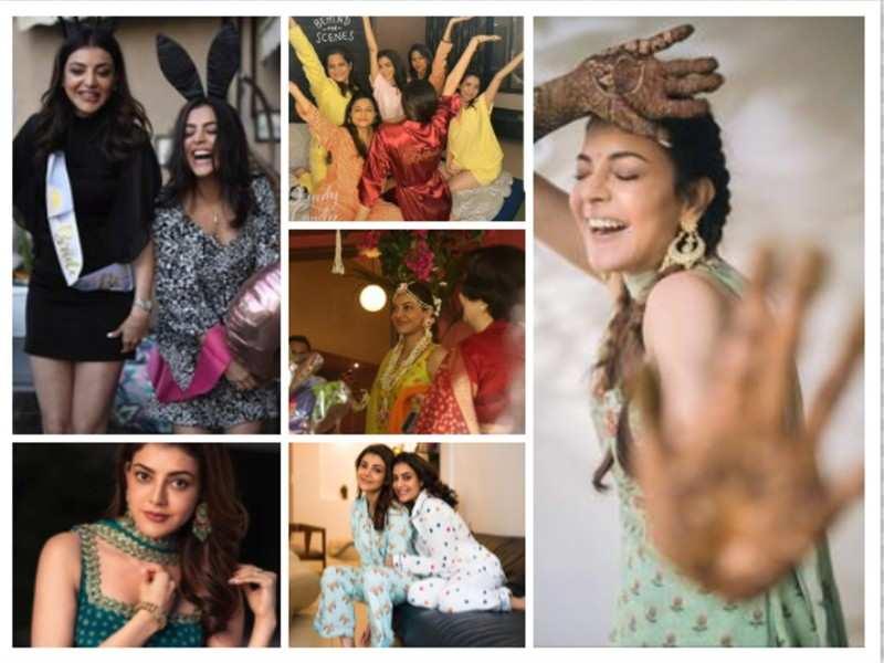 Kajal Aggarwal and Gautam Kitchu wedding: Decoding the bride-to-be's pre-wedding outfits