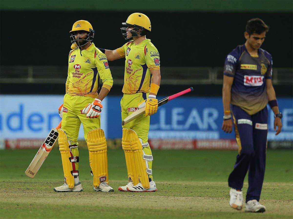 CSK vs KKR: Chennai Super Kings dent Kolkata Knight Riders' chances; Mumbai  Indians in playoffs | Cricket News - Times of India