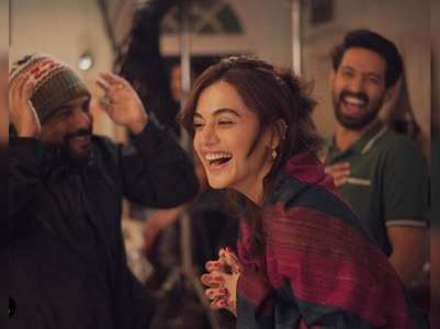 Taapsee wraps the shooting of 'Haseen Dilruba'