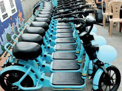 Fear of public transport fuels surge in electric scooter sharing in  Bengaluru   Bengaluru News - Times of India