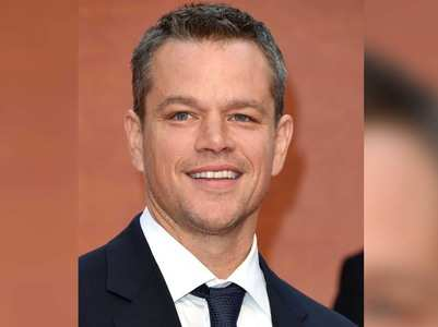 Matt Damon is not a car person