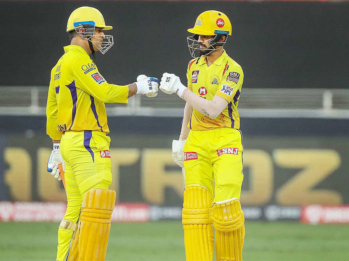 CSK vs KKR: Ruturaj Gaikwad is one of the most talented players going  around, says MS Dhoni   Cricket News - Times of India