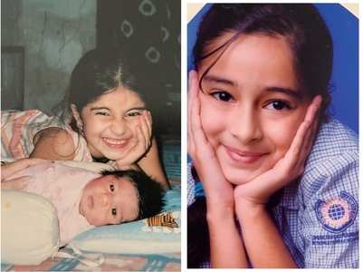 HBD, Ananya: Childhood pics of the actress