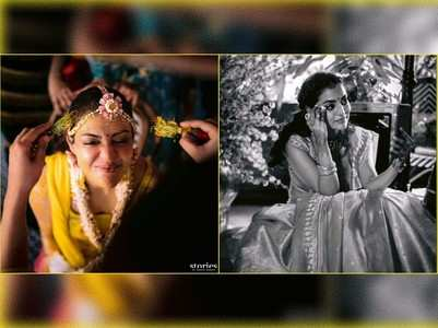 Kajal shares special moments from her haldi