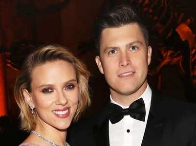 Scarlett Johansson ties knot with Colin Jost