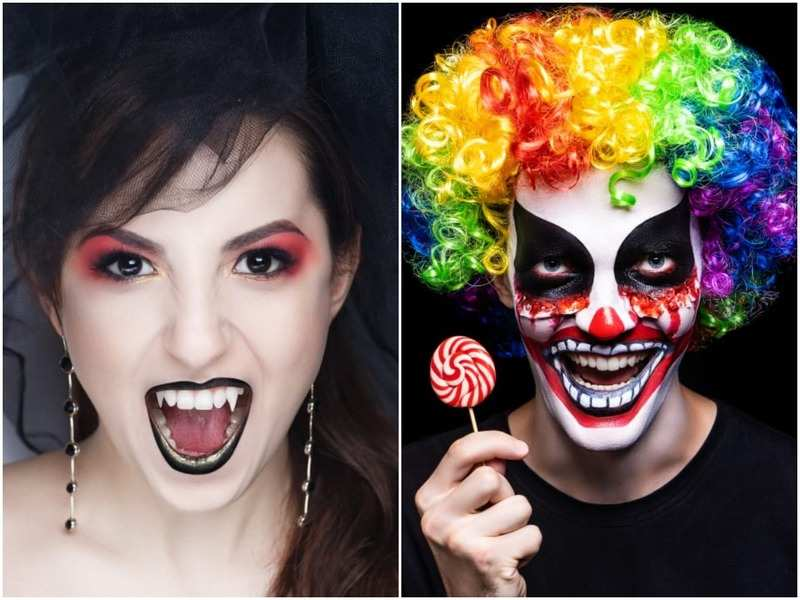 Get your Halloween make-up in place for tomorrow