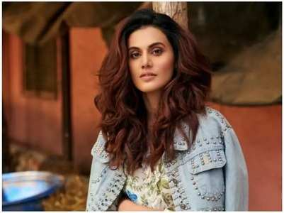 Taapsee shares a look of Rashmi Rocket