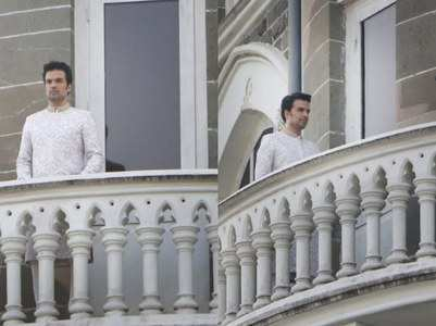 Pics: Gautam Kitchlu appears as a groom
