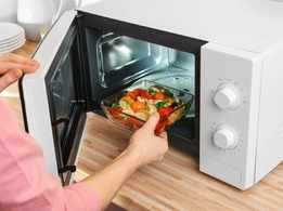 How many times can you safely reheat food items?
