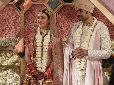 Kajal Aggarwal stuns in first picture as a bride