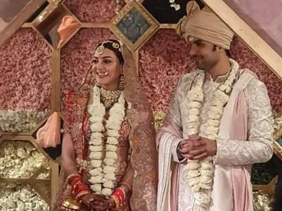 Photos: Kajal and Gautam tie the knot