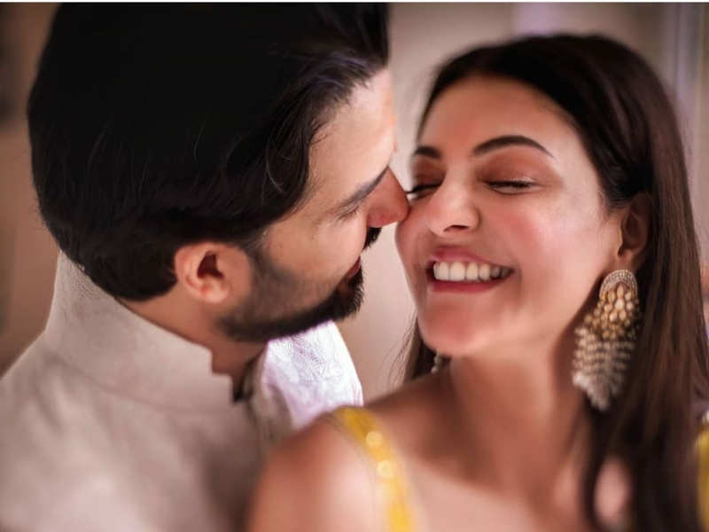 #kajgautkitched: Kajal ties the knot with Gautam in a traditional ceremony