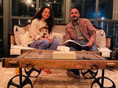 Kangana wraps up reading for 'Tejas'