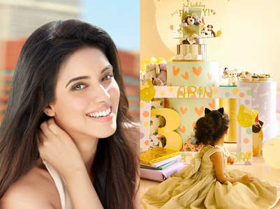 Photos: Asin's daughter Arin turns 3