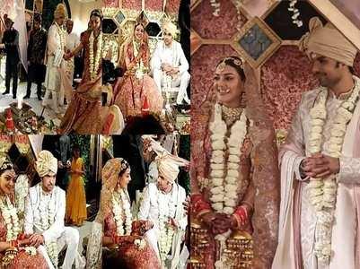 Inside pics from Kajal-Gautam's wedding