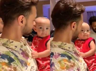 Don't miss this cute video of Aayush's daughter