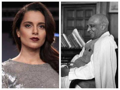Kangana shares a post on Vallabhbhai Patel